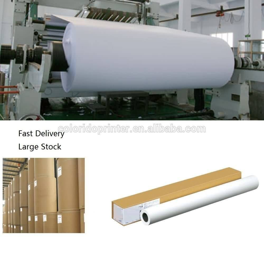 12 Years Manufacturer 100g quick dyring digital polyster printing Roll Sublimation Paper to kazakhstan Manufacturer