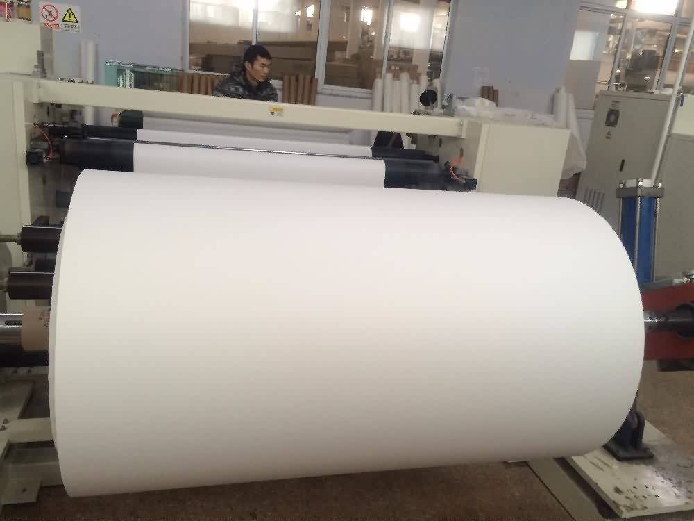 12 Years Manufacturer 100gsm 1370mm(54inch) 100m/roll sticky sublimation transfer paper for Ottawa Manufacturers