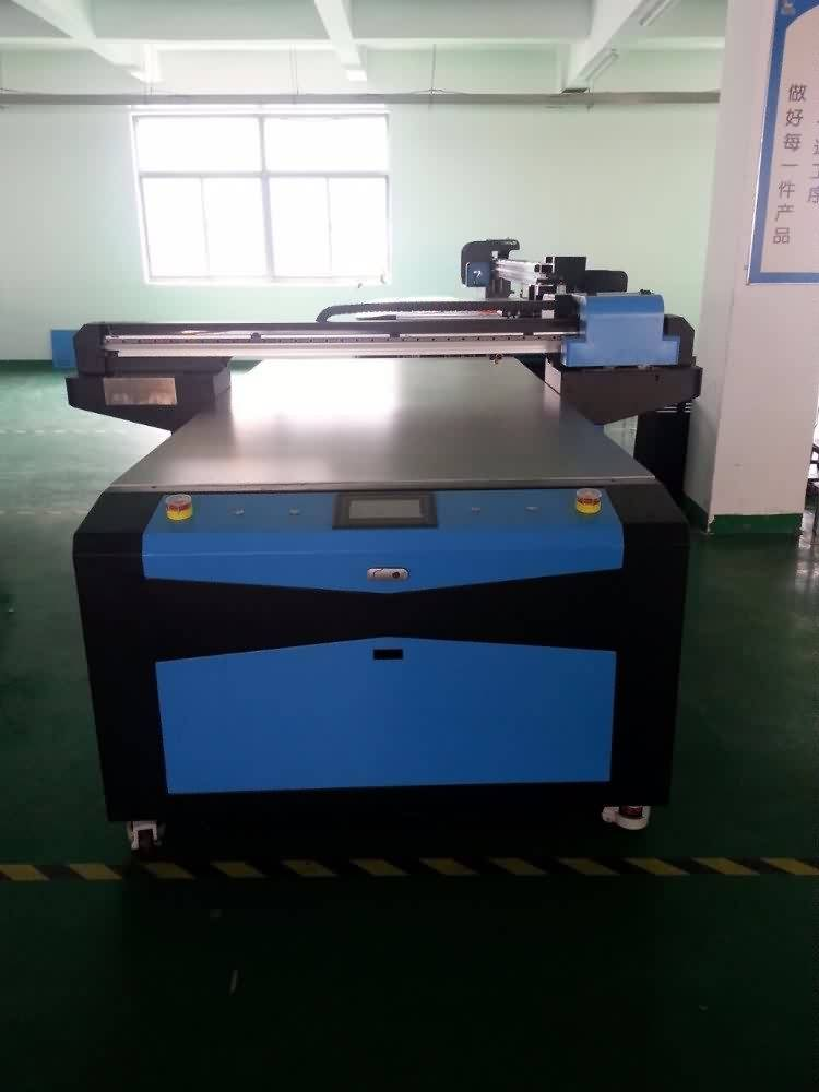 100% Original Factory 1300*2500MM UV LED FLATBED PRINTER With DX5/DX7 Printhead Supply to Hyderabad