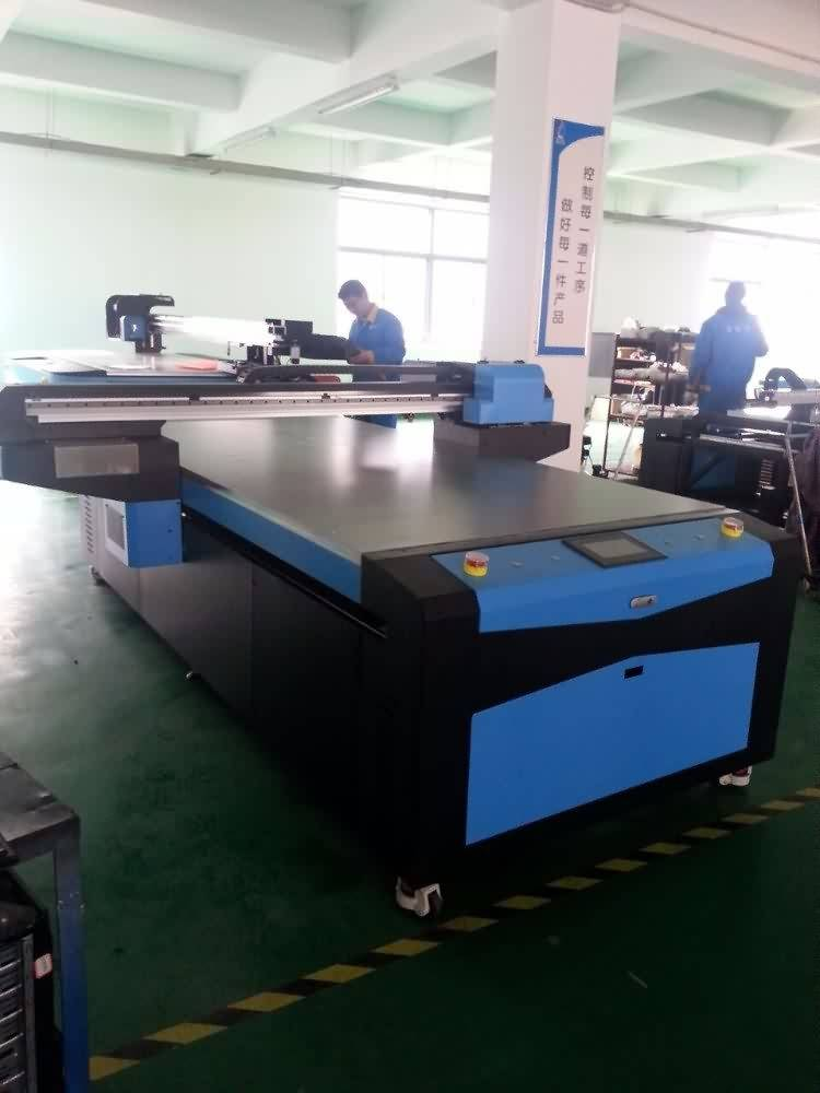 100% Original Factory 1300*2500MM UV LED FLATBED PRINTER With DX5/DX7 Printhead Supply to Hyderabad detail pictures