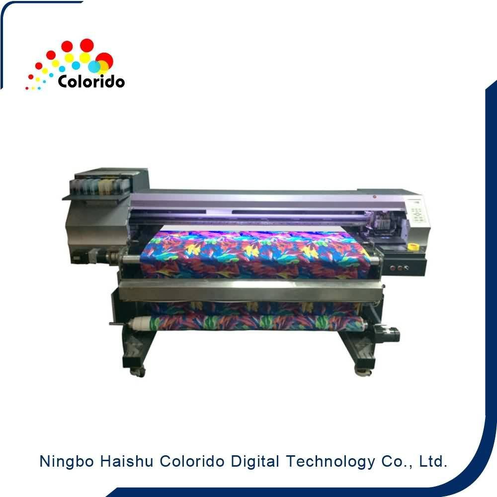 Wholesale 100% Original 1600mm width Belt type Digital Textile Printer to Riyadh Factory