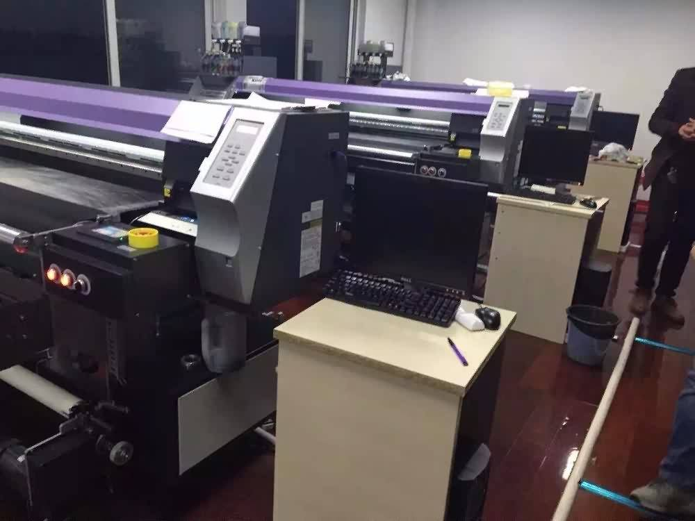 25 Years Factory 1600mm width Belt type Digital Textile Printer for kazakhstan Factories detail pictures