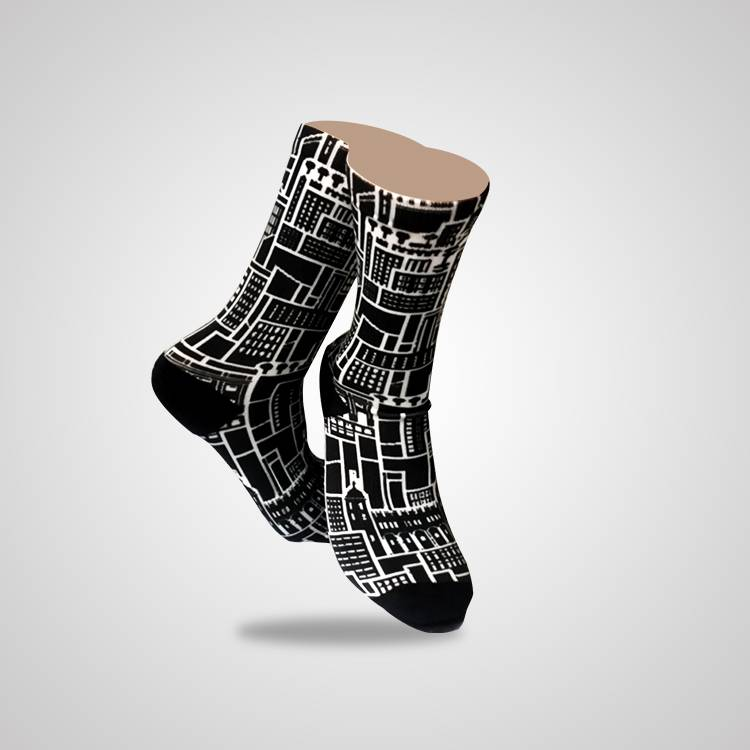 Basketball Teenagers Sublimated Sports Socks Custom Logo, Socks Factory In China Featured Image