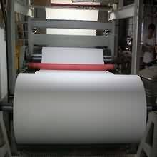 Chinese Professional 70gsm 420mm(16.5inch) 100m/roll sublimation transfer paper for Colombia Importers