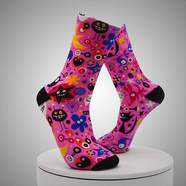 Multi-pattern Digital Printed Socks Featured Image