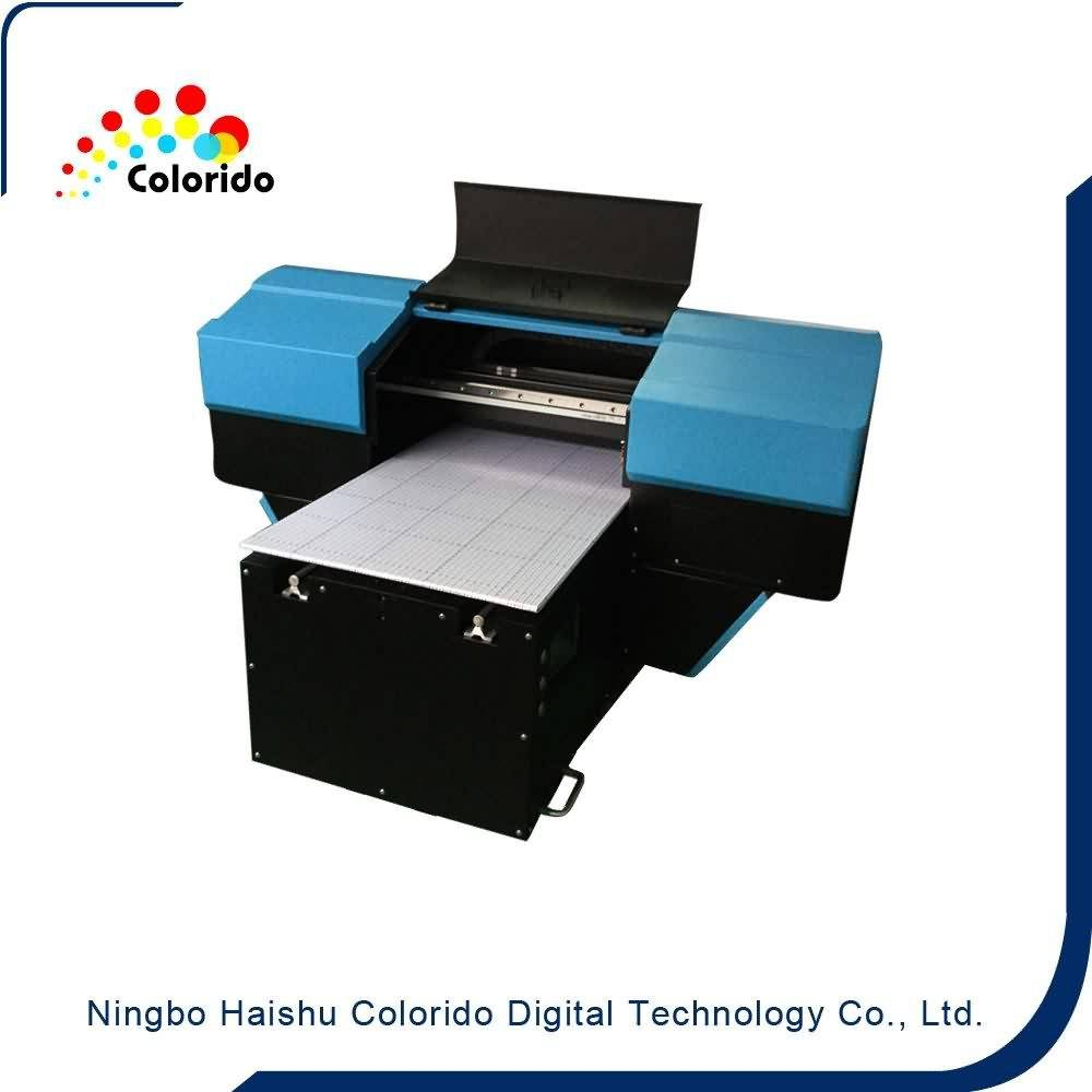 26 Years Factory A4 SizeTabletop Flatbed Inkjet UV-LED Printer for New Zealand Factories