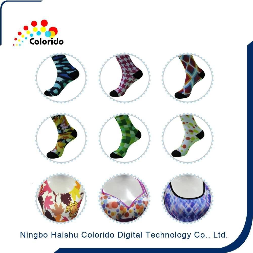 2017 Latest Design  Automatic socks plotter, socks textile Printing Export to Argentina