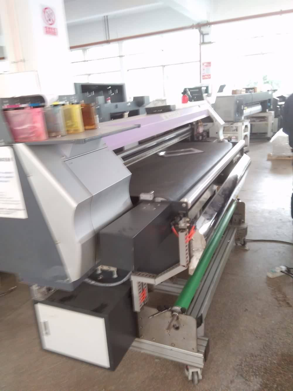 Factory making Belt type Direct fabric printing Textile Printer with DX5 head for Sweden Factory
