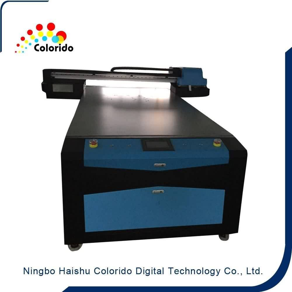 High quality factory Best Quality Flatbed UV DIGITAL INKJET PRINTER CO-UV1325 for French Factory