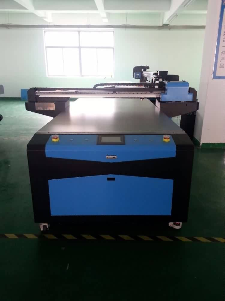High quality factory Best Quality Flatbed UV DIGITAL INKJET PRINTER CO-UV1325 for French Factory detail pictures