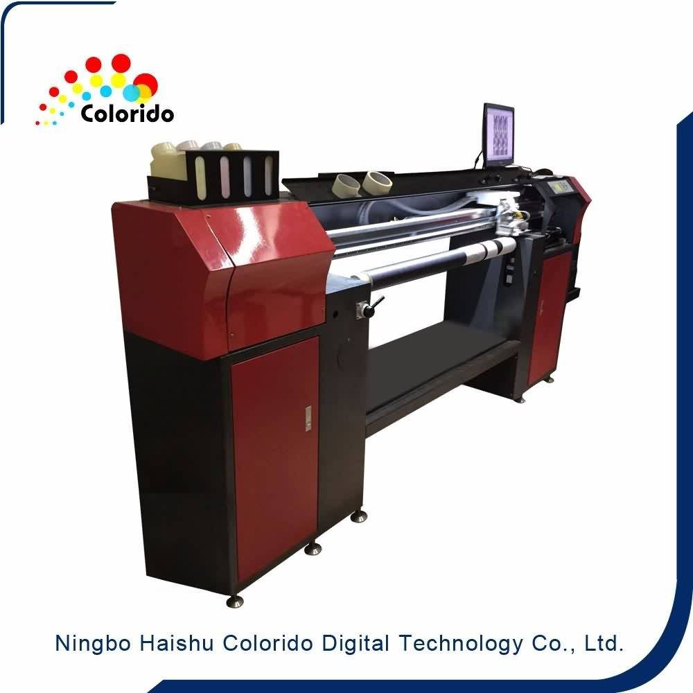 China wholesale Cheap direct to garment printing Rotary Digital Textile inkjet Printer for Munich Factories