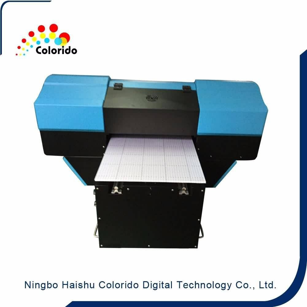 China supplier OEM Colorido uv flat bed inkjet printer with digital printing system for British Factory