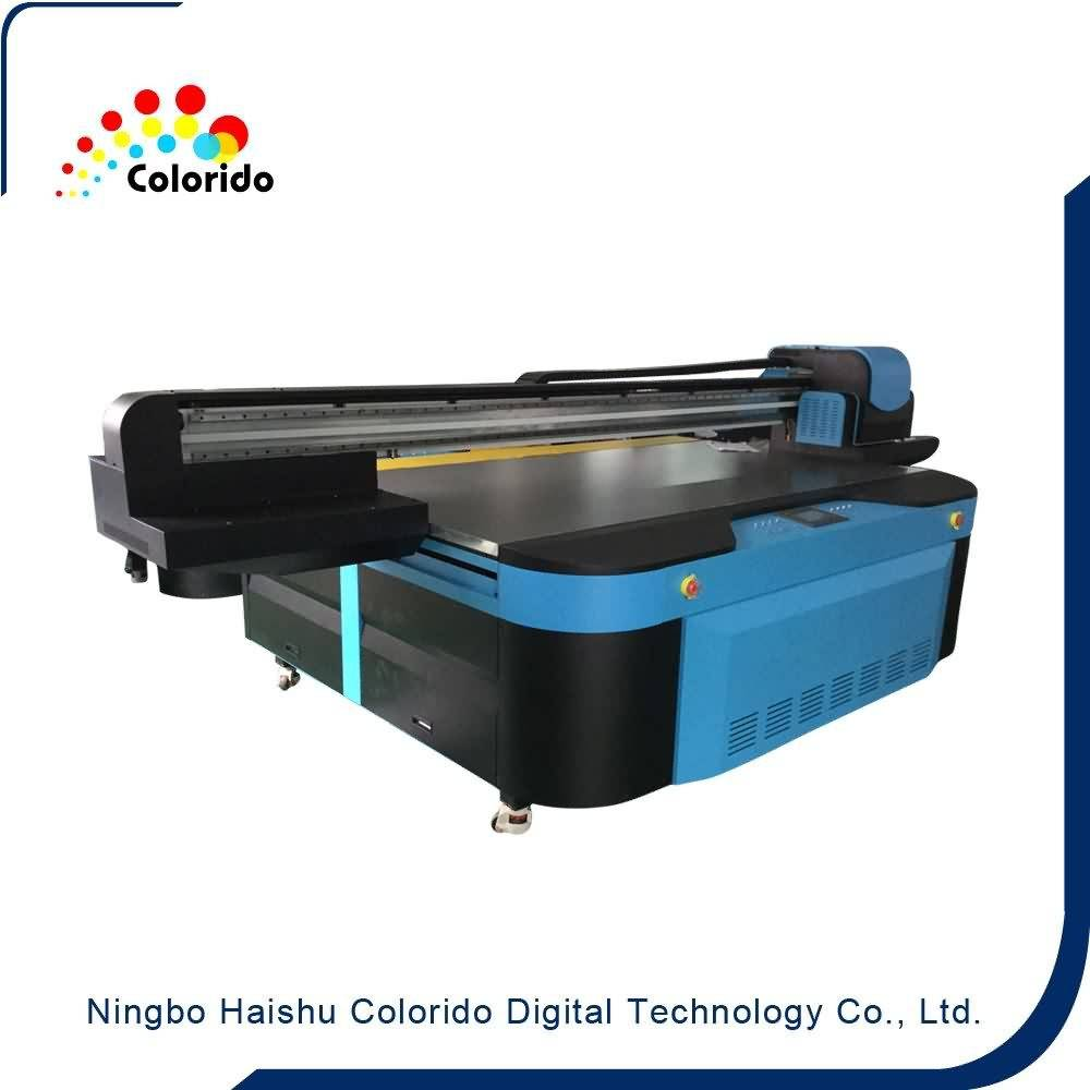 China Professional Supplier Digital ceramic tile uv flat bed printing machine to Lahore Factory