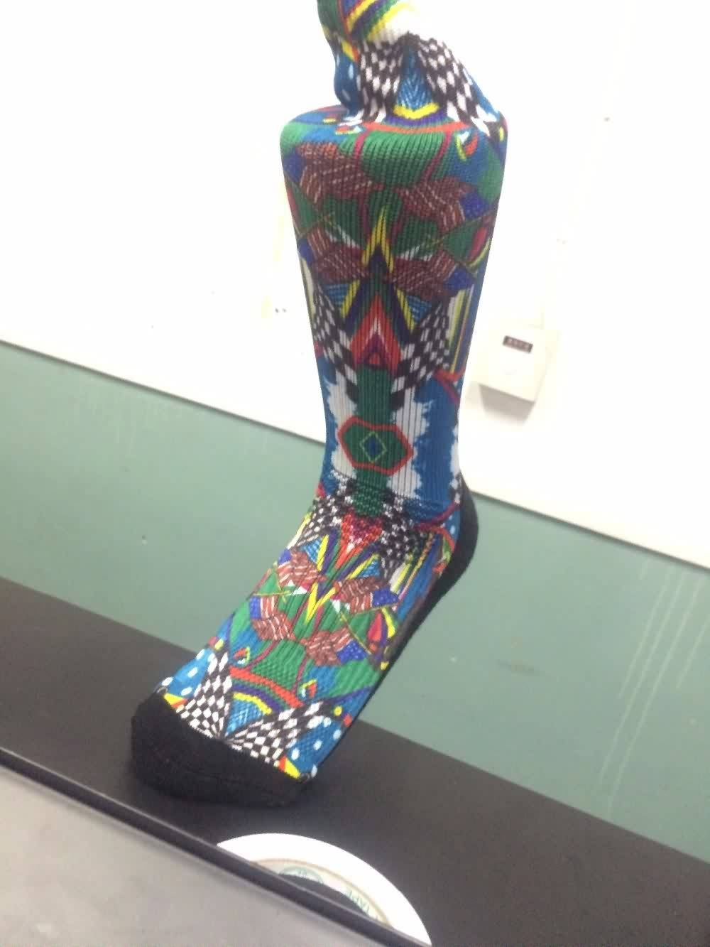 Factory selling Digital socks printing machine for sale,custom sport socks print to Kazakhstan Manufacturers detail pictures