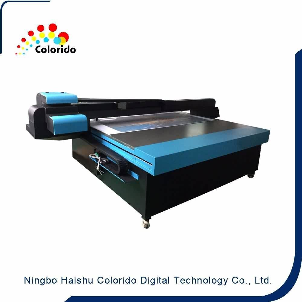 Professional China  Digital UV printer High speed Full color Digital CMYKW for European Factory