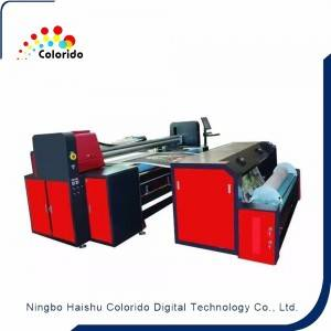 Embroidery,Jacquard, gold blocking localization printing machine