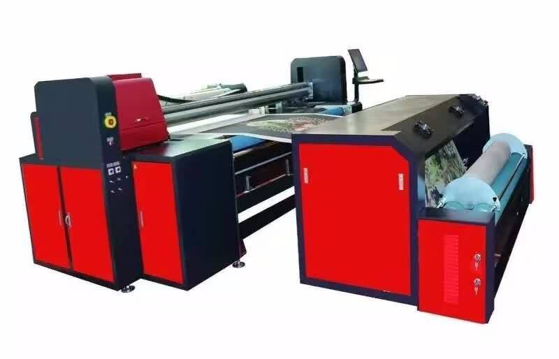 Best quality and factory high efficiency Embroidery printing machine with scanning system to Bhutan Importers