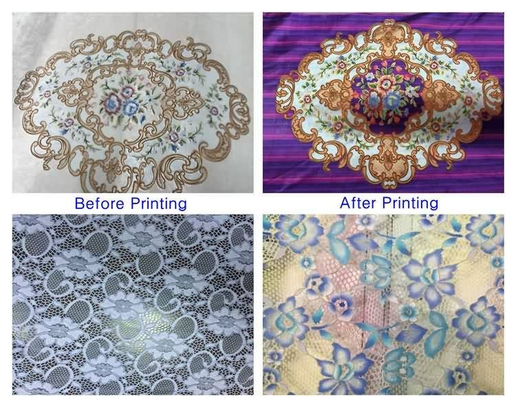 Customized Supplier for high precision digital embroidered fabric printer for Bangladesh Importers
