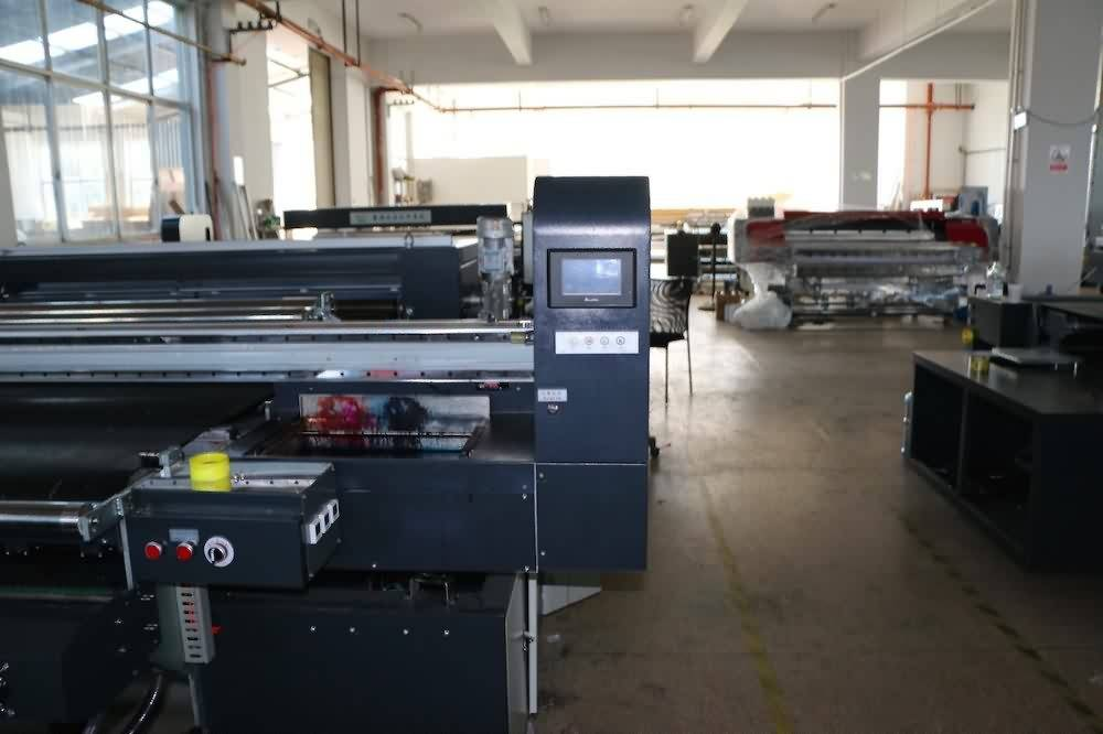 High Quality Industrial Factory High speed large format Industrial Textile Printer with good price to Chile Manufacturer