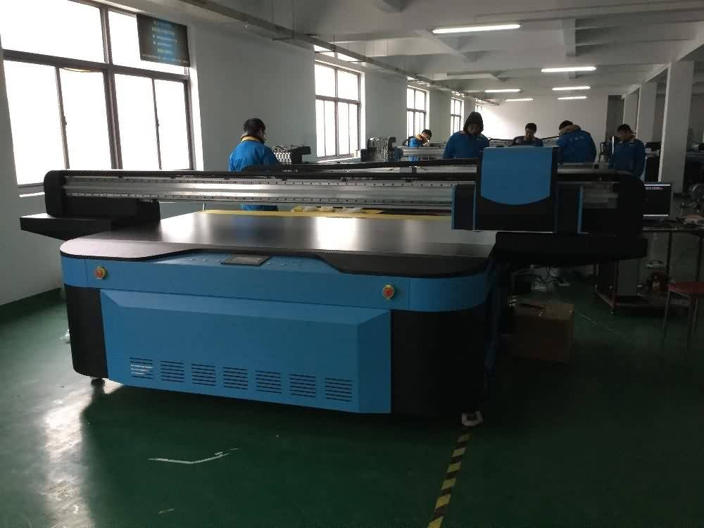 Hot Selling for Industrial 2500x1300mm UV FLATBED PRINTER with LED LAMP to Paraguay Factories