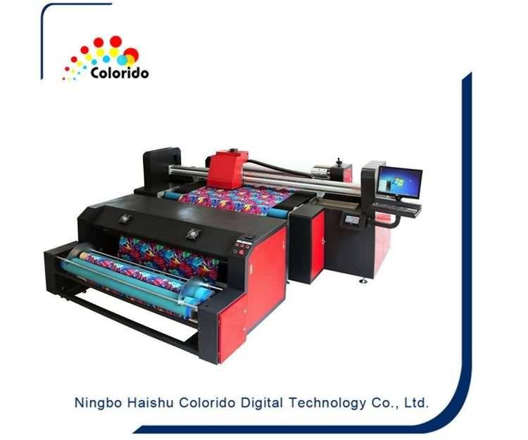 Newly Arrival  Industrial belt type textile fabric printer with starfire heads to Las Vegas Manufacturer
