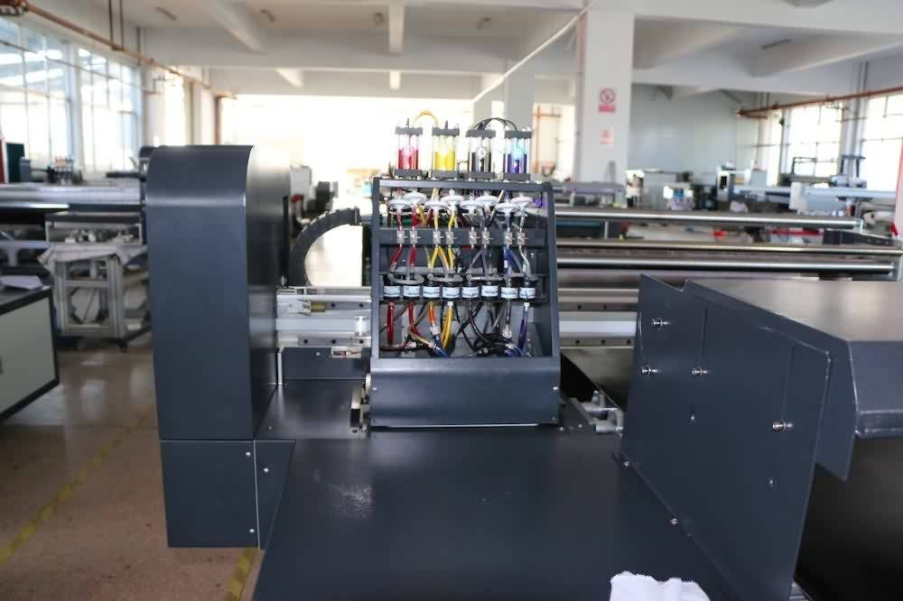 Professional High Quality Industrial speed 220m2/h belt type textile printer for direct printing for America Importers