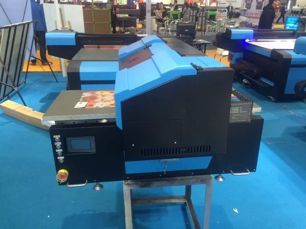 China Professional Supplier MINI UV Flatbed printer LED UV Printer Wholesale to Roman detail pictures