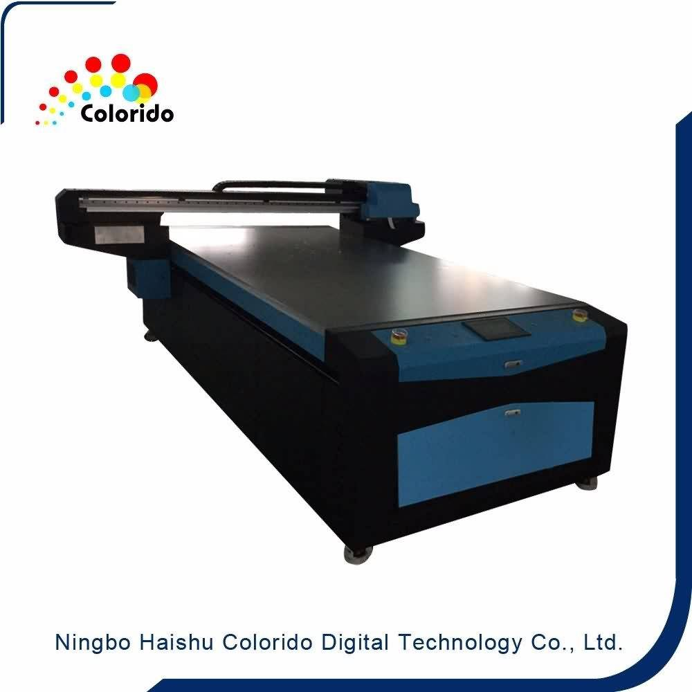 factory Outlets for New model two DX7 heads inkjet flatbed UV1325 LED Digital printer to Bangladesh Manufacturer