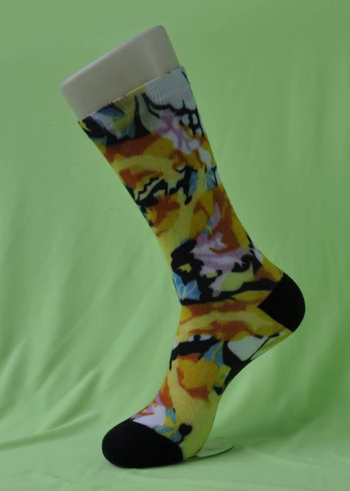 19 Years manufacturer OEM socks designs, Socks printing, digital sock printer to Lithuania Manufacturer