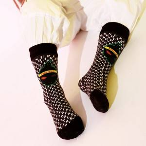 Women Anti Slip Your Own Design Socks Logo