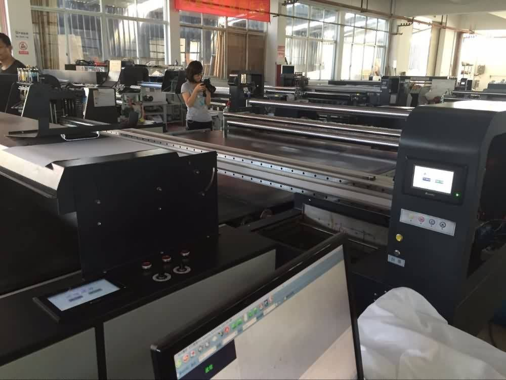 Best-Selling Star fire head Belt type Textile plotter for direct printing all kinds fabrics for Angola Factory
