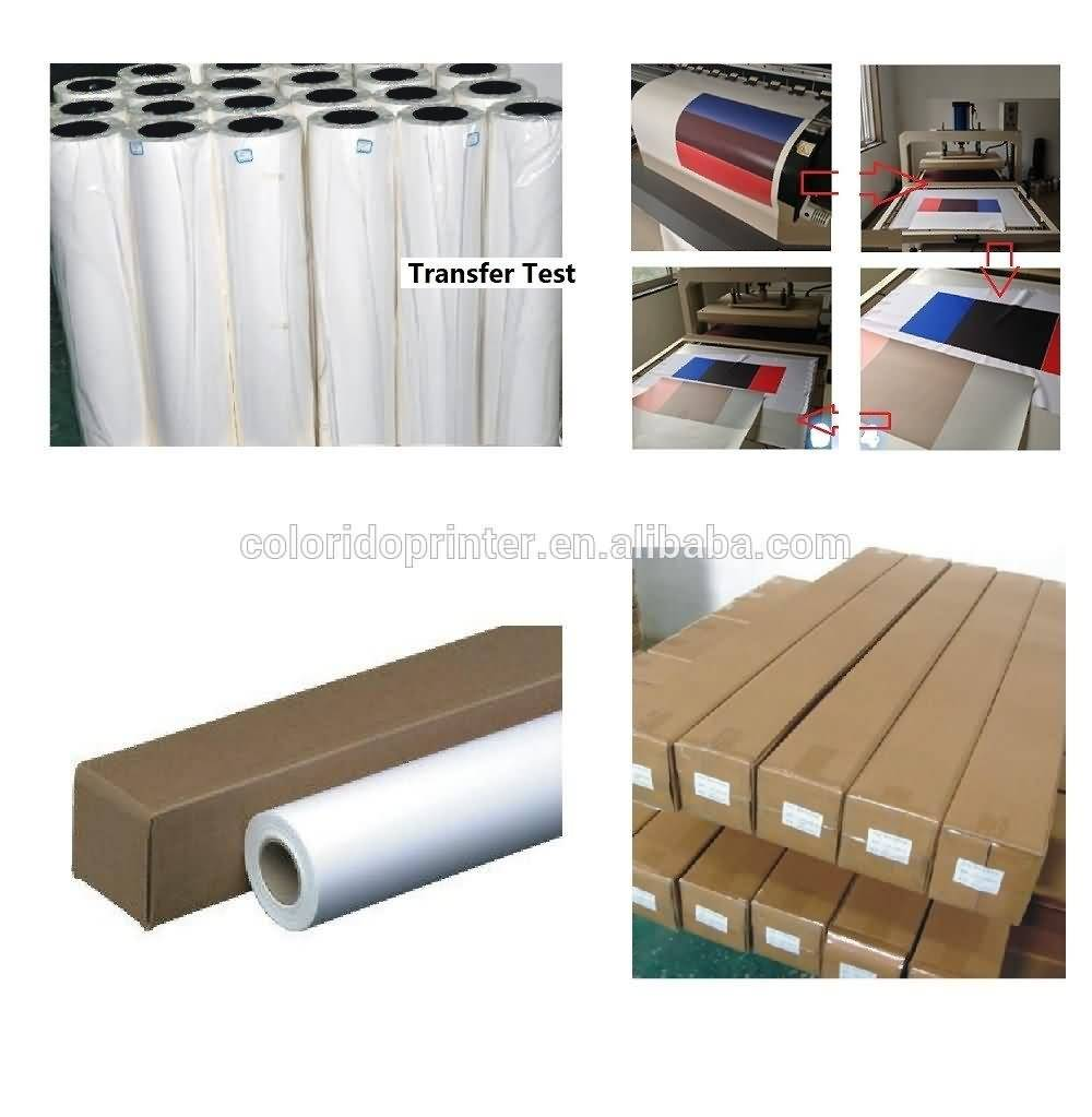 Factory Promotional sublimation transfer paper printing paper roll to Armenia Importers