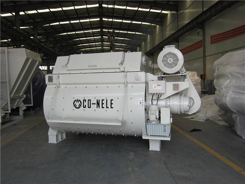 1 Cubic Meters twin shaft Concrete Mixer Works  Well