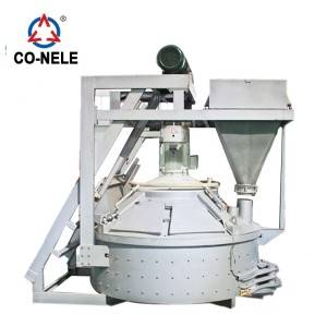 MP750 planet mixer beton