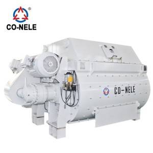 twin shaft concrete mixer for production concrete pipe