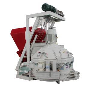 Best quality Concrete Mixer 350l With Four Wheels - Planetary mixer with skip – CO-NELE Machinery