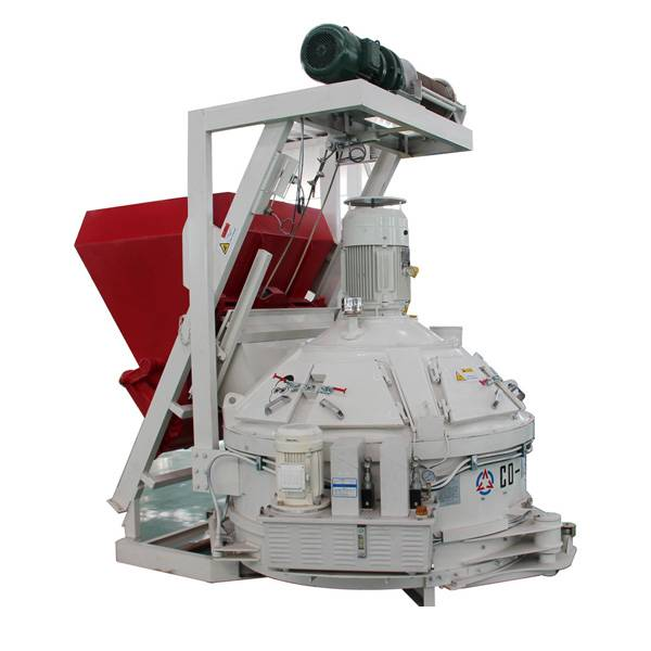 China Gold Supplier for Small Frication Type Concrete Mixer - Planetary mixer with skip – CO-NELE Machinery