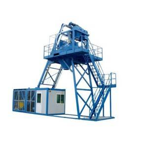 18 Years Factory Concrete Mixer Pump - Mobile concrete batching plant MBP20 – CO-NELE Machinery