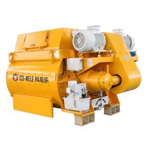 Manufacturing Companies for Great Performance Mixer - Twin shaft concrete mixer CTS – CO-NELE Machinery