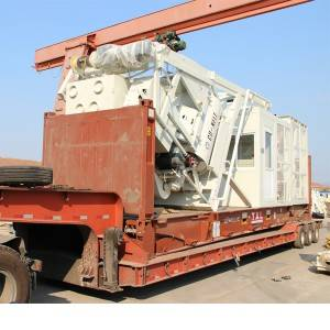Renewable Design for Engineering Construction Mini Mobile Concrete Cement Batching Grout Plant For Sale