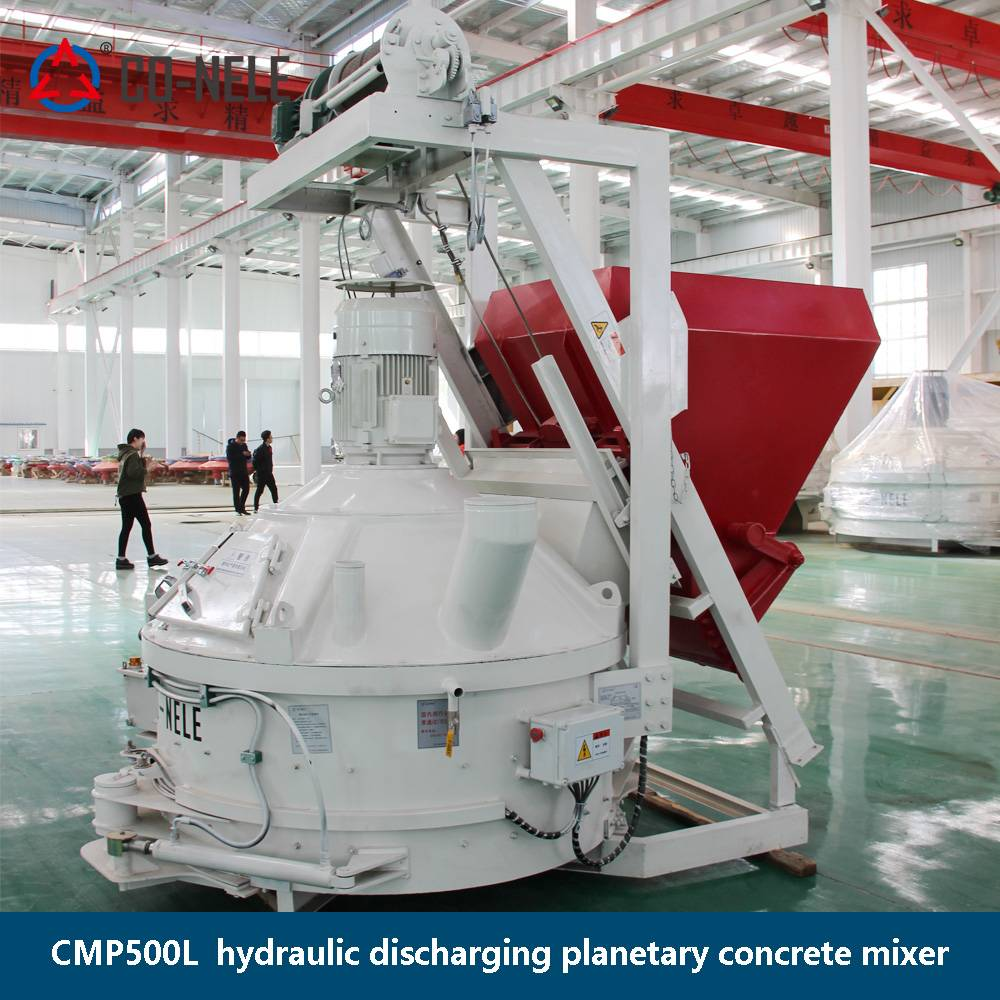 100% Original Co Nele Brand Concrete Pile Mixer - Planetary mixer with skip – CO-NELE Machinery