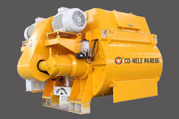 Hot New Products Forced Twin Shaft Concrete Mixer -