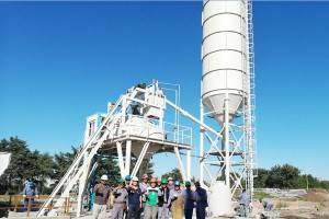 HZN35 ready concrete batching plant