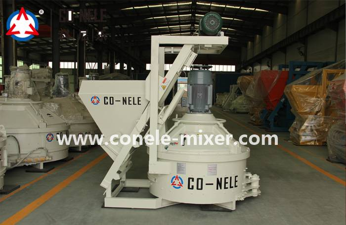 2018 High quality Js Automatic Twin Shaft Concrete Mixer -