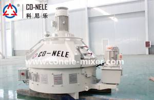 Factory making Ajax Double Shaft Mixer -