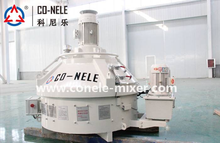 Factory Promotional Twin Shaft Concrete Mixer 1.5m3 -