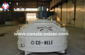 Chinese wholesale Conele Brand Concrete Pan Mixer -