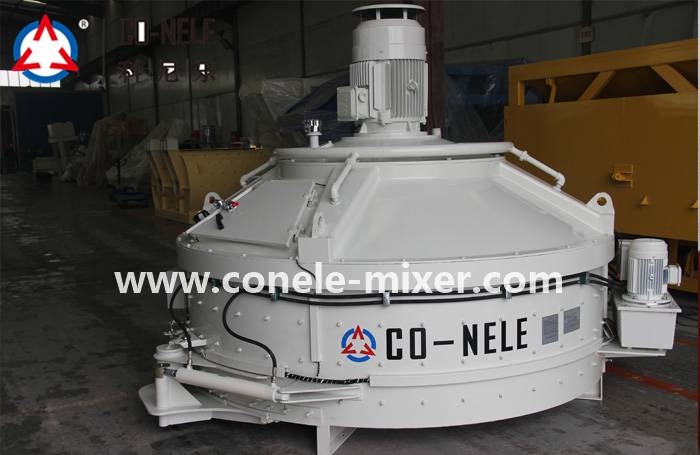 Hot New Products Twin Shaft Concrete Mixer For Sale -