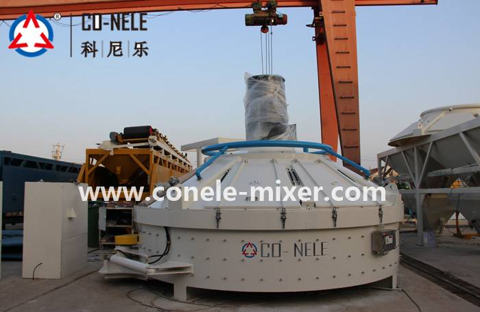Good quality Pan Mixer For Mortar -