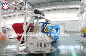 OEM China 220v/380v Concrete Mixer With Lift -